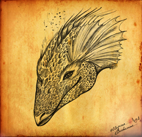 Lissy the Dragon by Gryphonia