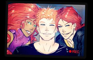 Grayson's Redheads (Angels) by croaky