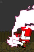 Castle Crashers - Red by JunkyCow