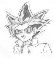 Yami Yugi Traditional by Perry--Agent