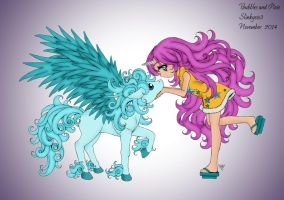 Bubbles and Pixie by slinkysis3