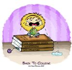 Back To College by S-h-a-y-m-a
