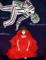 Beetlejuice, Beetlejuice, Beetlejuice by manorainfection