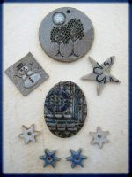 Winter Jewelry by Osa-Art-Farm by In-The-Mud