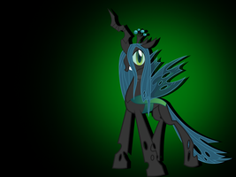 Queen Chrysalis Wallpaper by MartyMurray