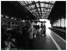 Wroclaw train station by CinnamonGirlMika