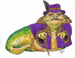 Jabba The Pimp by NickMockoviak
