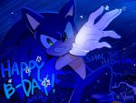 happy Bday sonic by lujji
