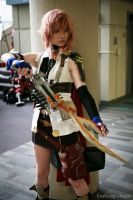 FFXIII: Flash of Lightning by SailorAnime