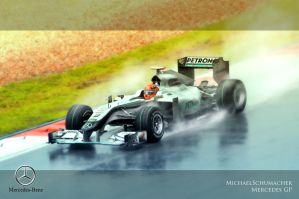 Michael Schumacher by Pandowo014