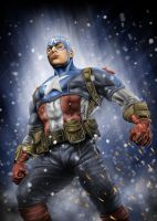 captain america by aryasatya