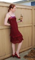 Red Dress Stock 12 by chamberstock