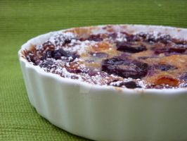 Cherry Clafoutis 02 by LoveandConfections