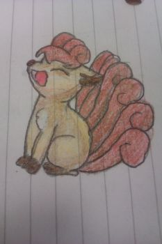 Vulpix by swesley11