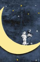 Dogs on the Moon II by Thelema001