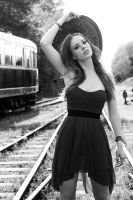 Sophie on the tracks by vallavalval