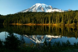 Rainier Reflections by FroglovinPhotogirl