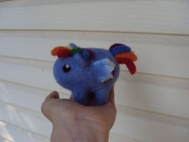 Rainbow Dash chibi tsum tsum mix doll by Phoenixwingcreations
