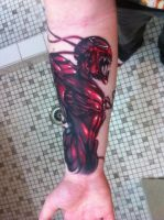 My Carnage Tattoo by CalebSlabzzzGraham