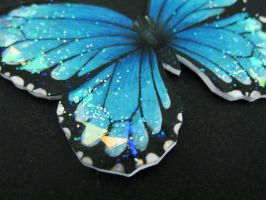 Blue Butterfly - Detail by BenjiiBen