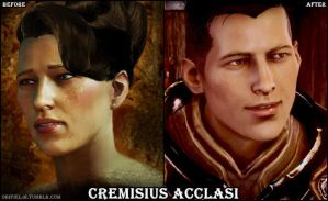 Dragon Age - Krem (Past and Present) by Orifiel-M