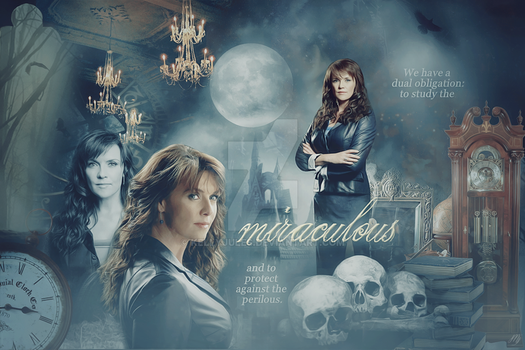 Amanda Tapping Sanctuary Blend by kellyjules