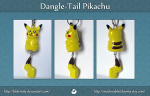 Dangle Tail Pikachu by ShinyCation