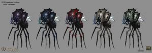 Creature Walker Colors by thevampiredio
