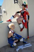 BlazBlue Litchi and Noel Cosplay by Sango-chan88