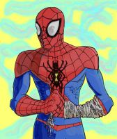 spiderman color skktch by chiryogatito