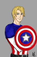 Captain America by martychan91