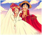 Bride and Groom by iamAsami