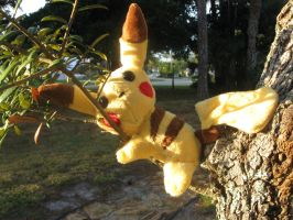 Pikachu Pokedoll by LordBoop