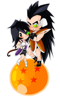 Dragon Ball Z Chibis by SH178