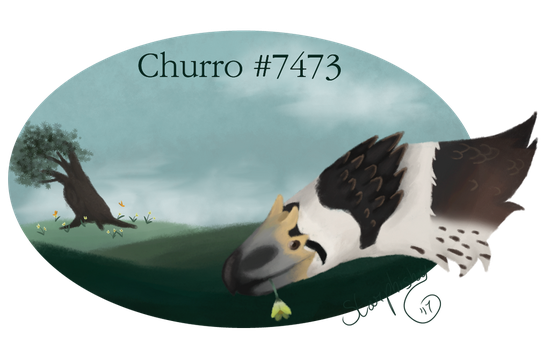 Churro Badge by Starphishy