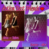 Action BEST FRIENDS n__n' by HollywoodWorld