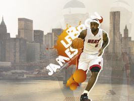 lebron james wallpaper by onemicGfx
