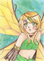 ACEO - The Fairy by Jellymii