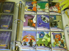 .:Sonic X Cards:. 55 - 63 by SEGAMew