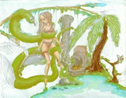 Jungle Gal 001 by packets4you