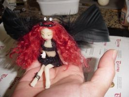 Forest Fairy detail by dollsbyelectra