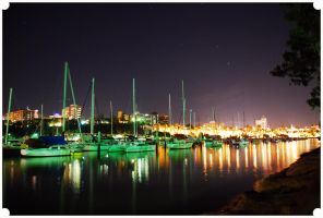 Boat lights by Star Light by Footomch
