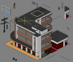 Townscape Preview - Office F by themozack