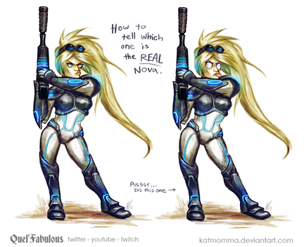Which One is the REAL Nova? by Katmomma