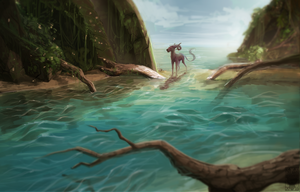 The coast of lost souls by Velkss