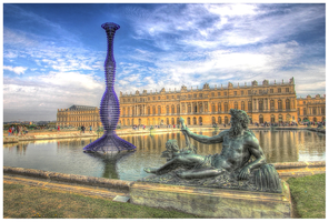 Chateau de Versailles by shade-azure
