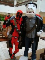 Deadpool and Viktor by TheDragonSensi