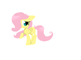 lineless young fluttershy by xxcandyflowerxx