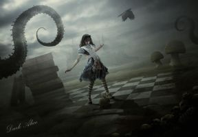 Dark Alice by BenjaminHaley