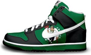 Nike Dunk: Boston Celtics V.2 by itsmonotune